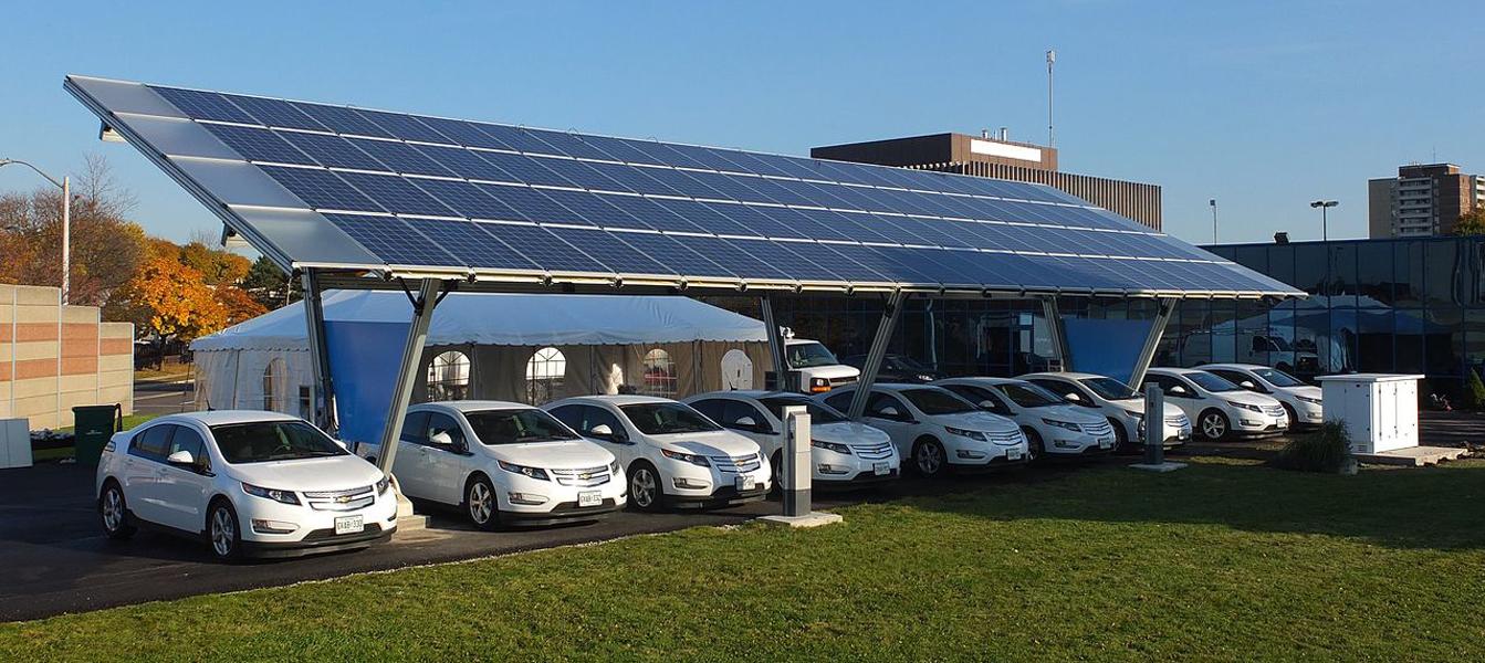 Станции ABB для заправки электромобилей