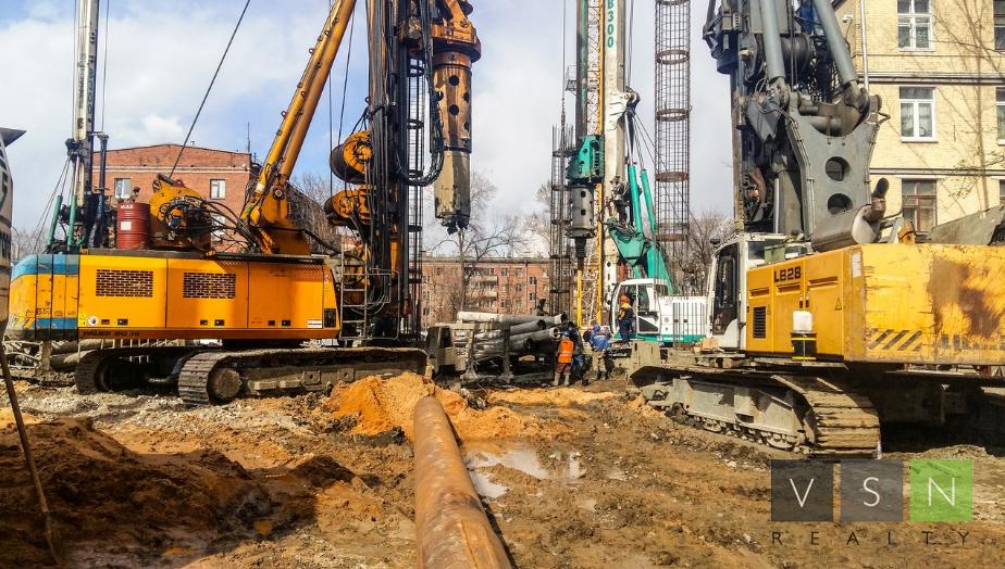 Строительство - основной вид деятельности у 100 тыс. московских организаций