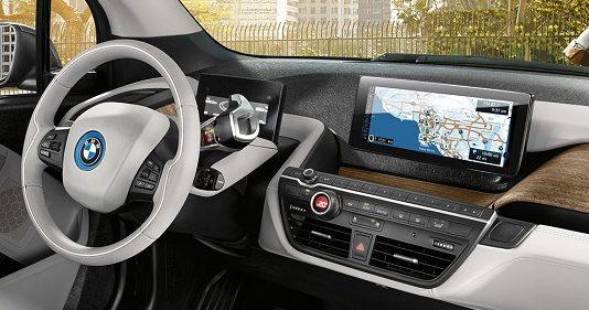 BMW i3в Москве