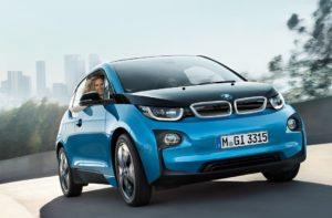 электромобиль BMW i3 в Москве