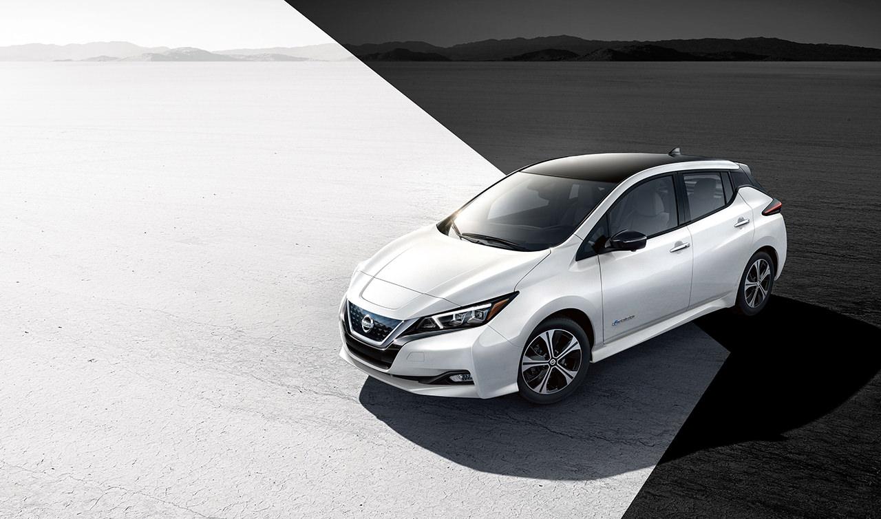 Nissan LEAF 2018 electrocar new concept