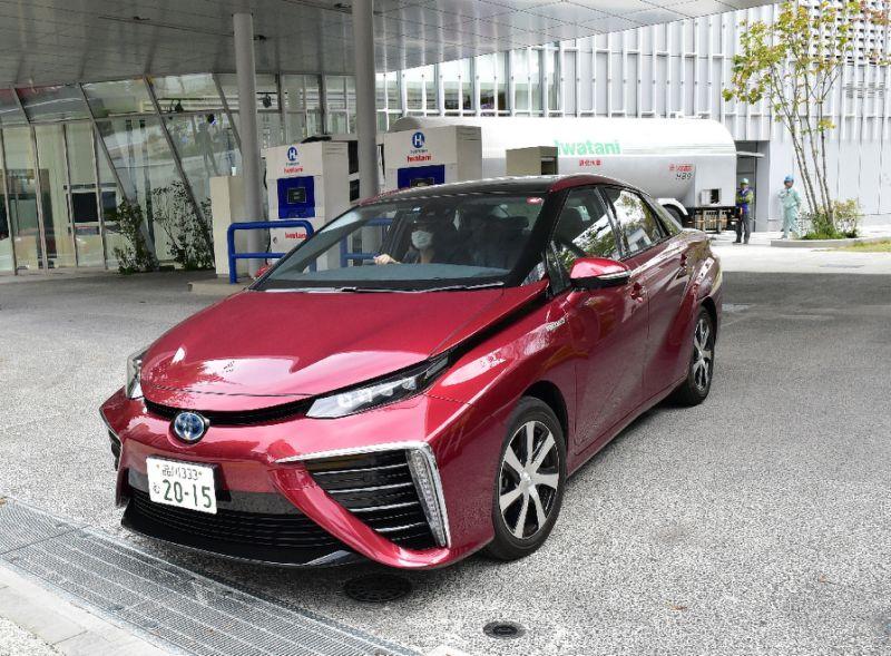 автомобили на водородном топлиове