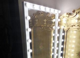 зеркала для гримерных
