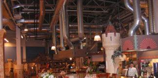 ресторан в торговом центре