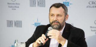 Александр Шумский, президент Национальной палаты моды и Mercedes-Benz Fashion Week Russia