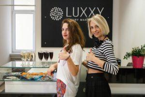 открытие офлайн бутиков Luxxy.com в Москве и Самаре