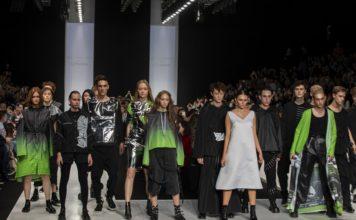 показ первой коллекции одежды для геймеров RAY, совместного проекта NVIDIA и бренда SNEZHANA.NYC