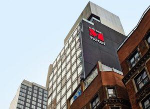 21-этажный отель CitizenM Bowery в Нью-Йорке